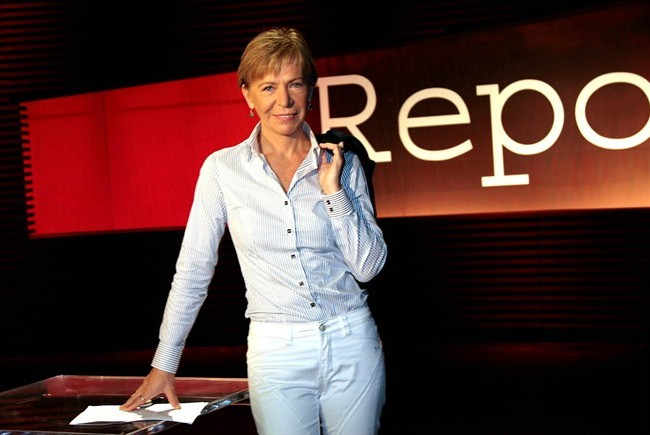 La giornalista di Report Milena Gabanelli