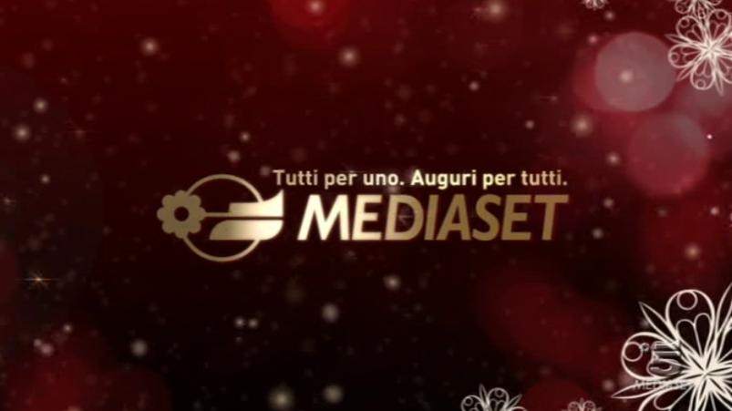 Auguri targati Mediaset