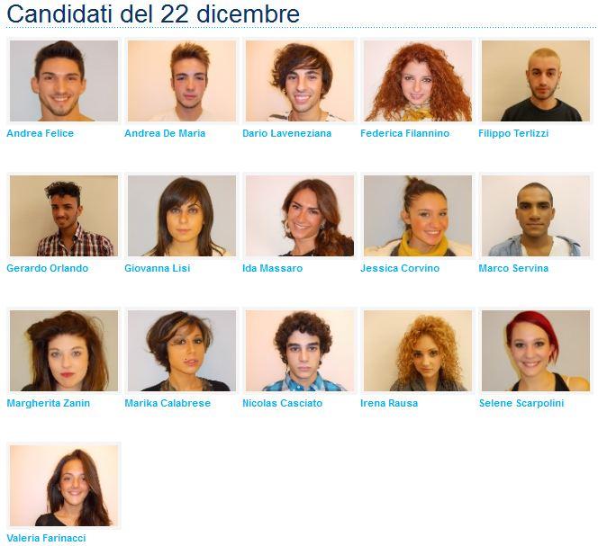 Foto Candidati allievi Amici 12