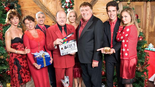 Il cast di Natale a 4 zampe