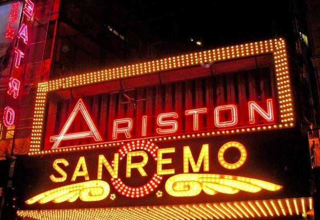 foto del teatro ariston di sanremo