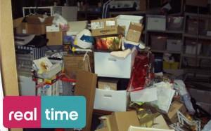 Il programma di Real Time: Sepolti in casa