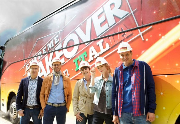 Foto del team Extreme Makeover Home Edition Italia