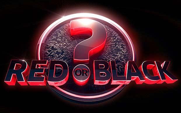 Red or black logo
