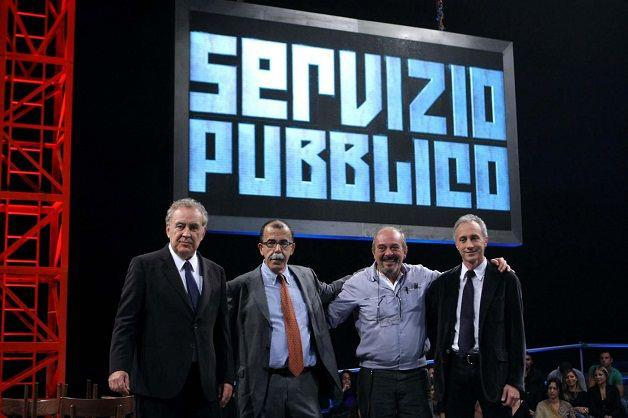Servizio pubblico programma più commentato sui social