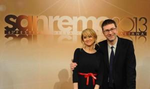 Fabio Fazio e Luciana Littizzetto