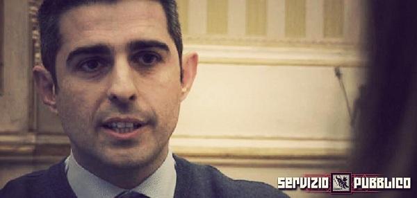 Il sindaco di Parma Federico Pizzarotti