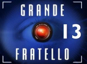 foto del logo del grande fratello 13