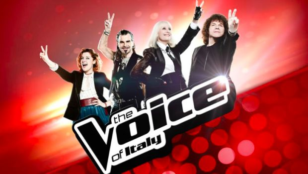 Foto giudici di The Voice of Italy su Rai 2