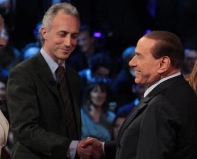 Berlusconi rinuncia a Otto e mezzo con Marco Travaglio