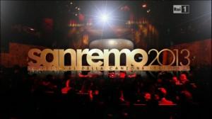 Logo di Sanremo 2013 terza serata