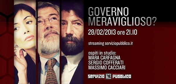 Ospiti 28 febbraio Servizio pubblico