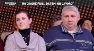 Canale 5, disoccupato trova lavoro a Domenica Live
