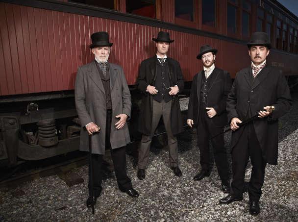 foto serie tv gli uomini che fecero l'america