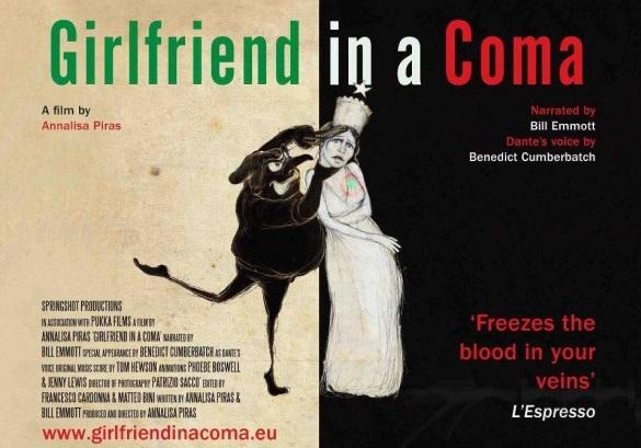 Girlfriend in a coma, il docufilm in prima tv su La7 sabato 9 marzo