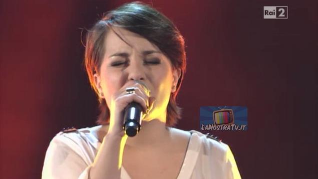 Foto di Giuliana Danzè The Voice of italy