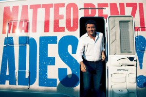 Matteo Renzi foto camper