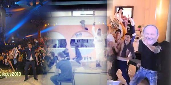 mediaset harlem shake 2013 italia's got talent amici zelig