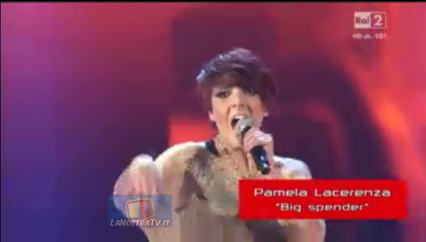 Foto di Pamela Lacerenza The Voice of Italy