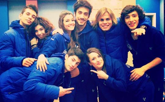 Foto squadra blu Amici 12