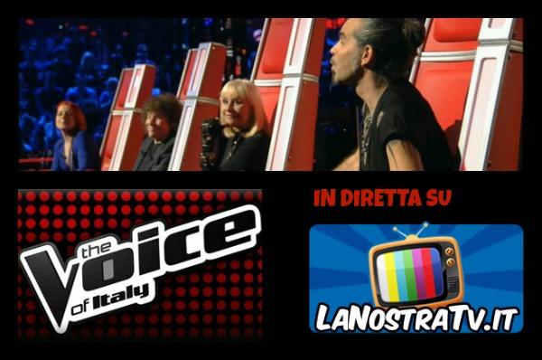 Foto di The Voice of Italy seconda puntata
