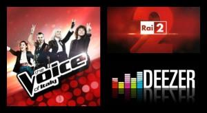 Foto di The Voice of Italy su Rai 2