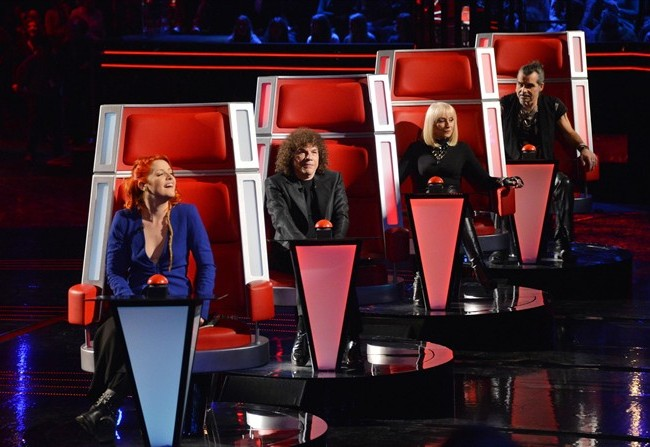 foto dei coach di the voice