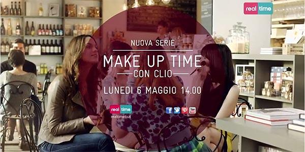 make up time con clio realtime tv cliomakeup