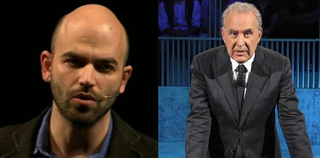 """Servizio pubblico: ospite Roberto Saviano per la puntata """"O la piazza o il re"""""""