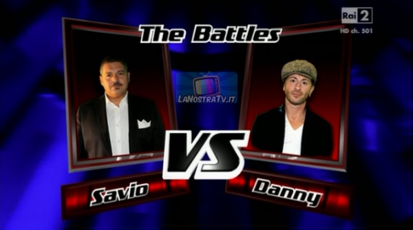Foto di Savio vs Danny The Voice of Italy