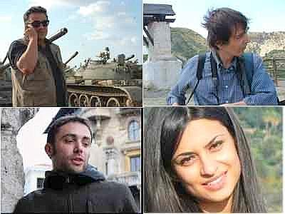 Siria, quattro giornalisti Rai fermati