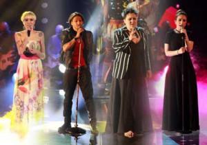 foto dei finalisti di the voice