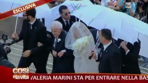foto di valeria marini sposa