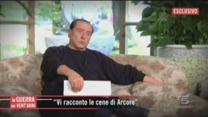 Processo Ruby, in tv la difesa di Berlusconi