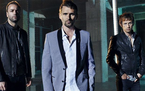foto della rock band Muse