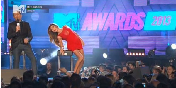 mtv awards italia 2013 belen pantani