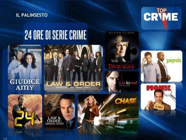 Top Crime dal primo giugno sul digitale terrestre