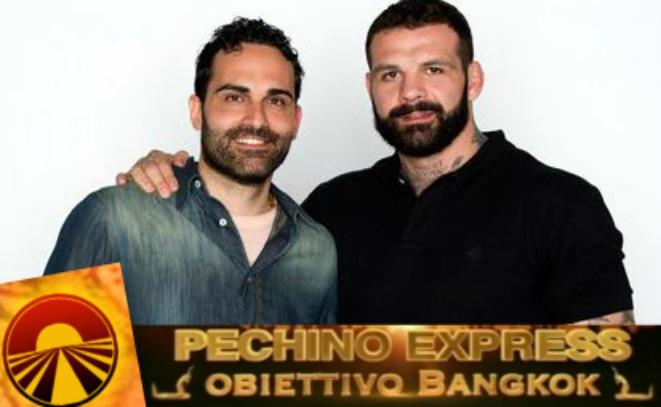 Alessio Sakara Stefano Venturini concorrenti pechino express 2