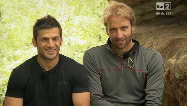Massimiliano Rosolino e Marco Maddaloni