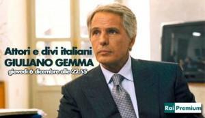 L'attore Giuliano Gemma