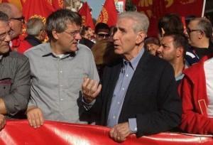 Maurizio Landini e Stefano Rodotà ospiti a Servizio Pubblico