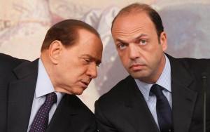 Le Iene alla conferenza stampa di Alfano