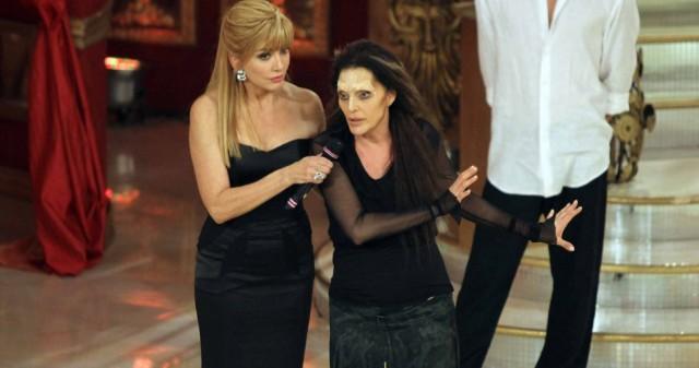 Milly Carlucci e Anna Oxa