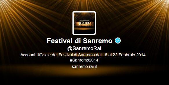 Sanremo 2014 social network