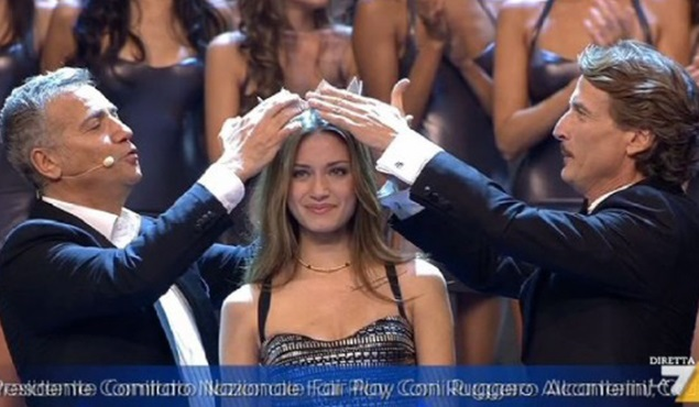 foto incoronazione miss italia 2013