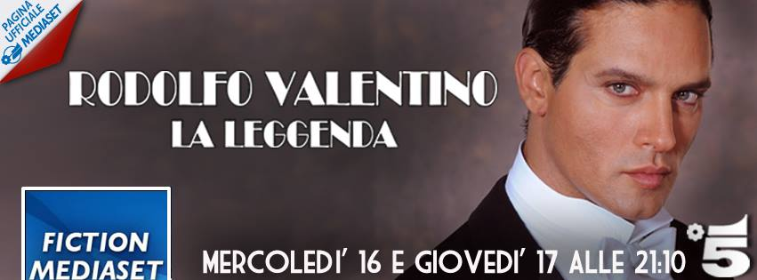 foto miniserie rodolfo valentino la leggenda