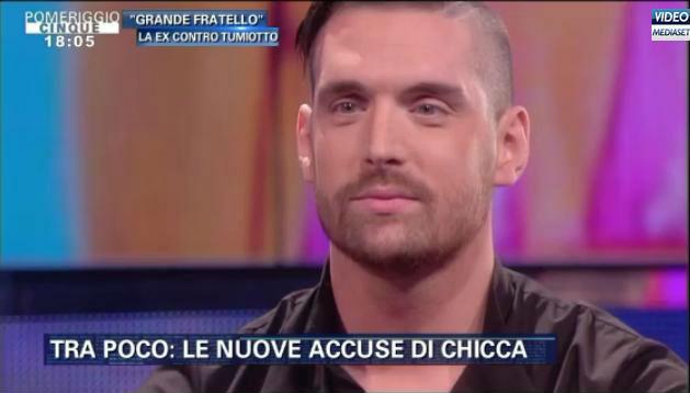 Leonardo Tumiotto a Pomeriggio Cinque