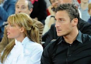 foto Ilary Blasi e Francesco Totti