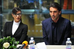 foto Ilaria D'Amico e Gigi Buffon