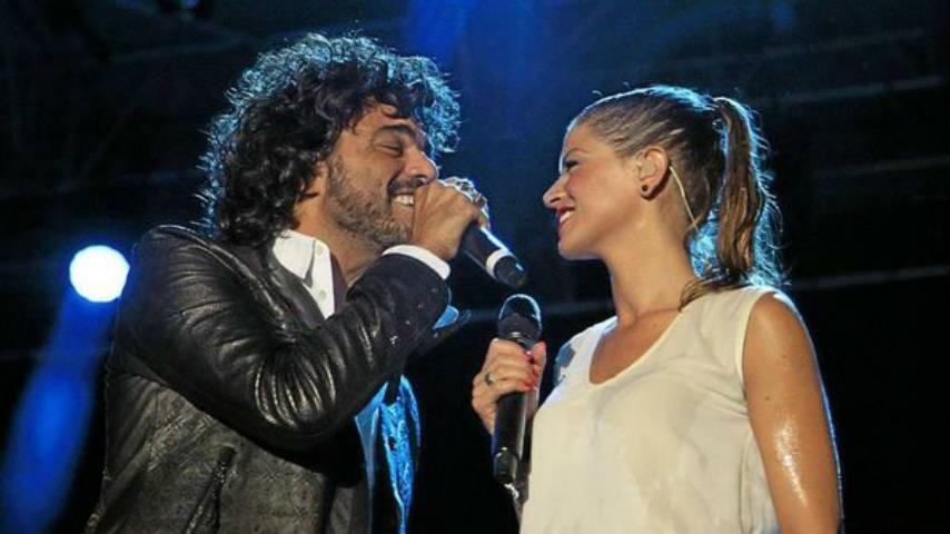foto Alessandra Amoroso e Francesco Renga